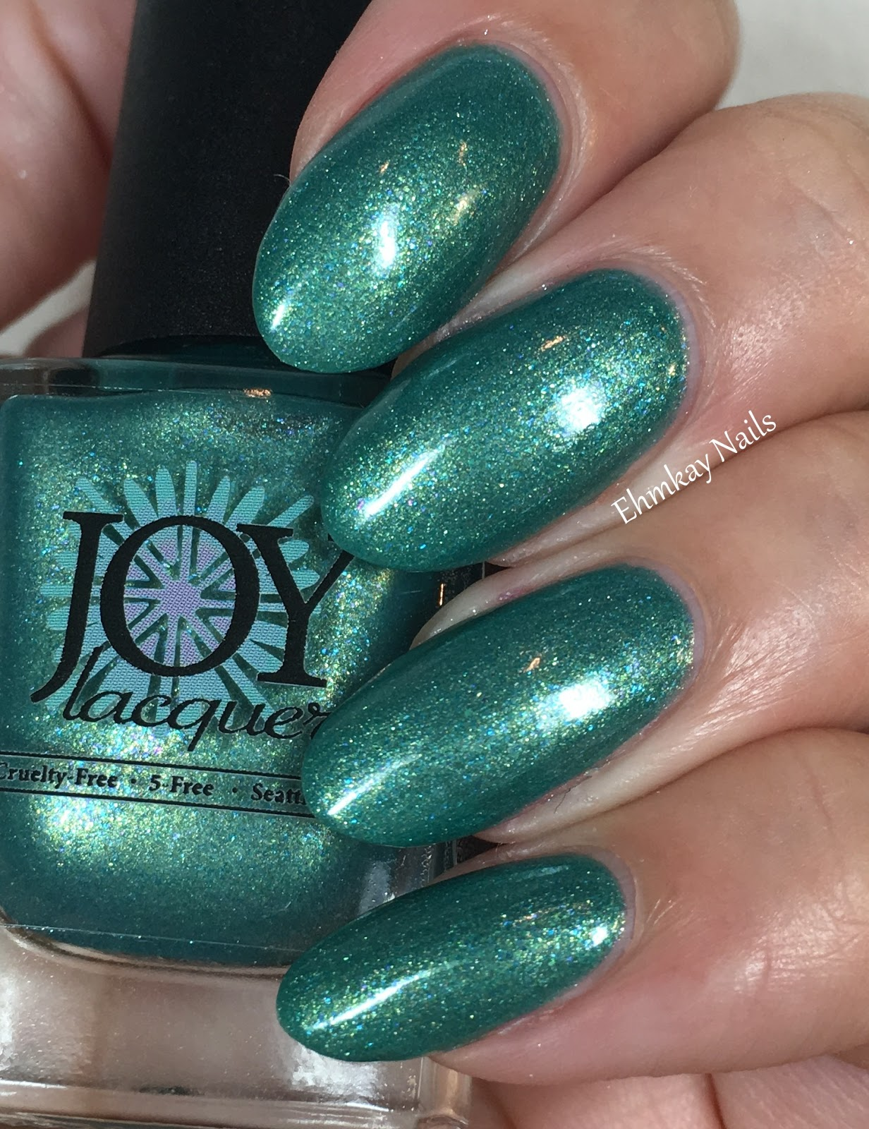ehmkay nails: Joy Lacquer KinderQueen Collection: Show and Teal Day ...