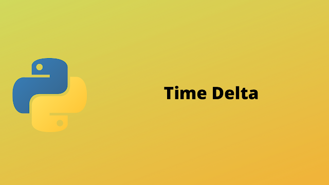 HackerRank Time Delta solution in python