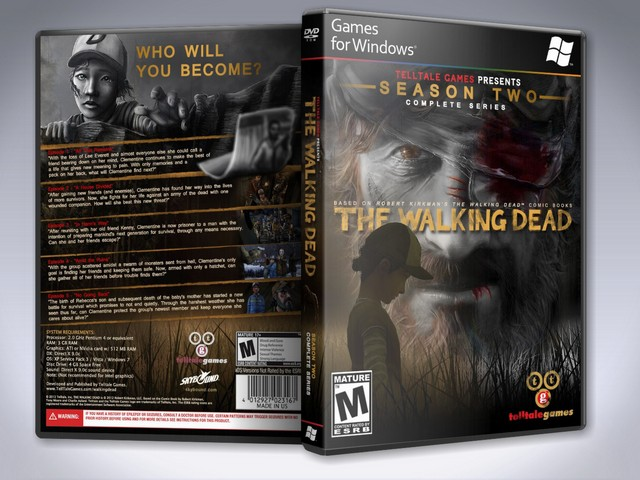 Capa The Walking Dead Season Two Complete Series PC