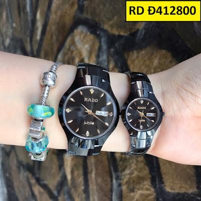 Đồng hồ đeo tay Rado Đ412800 sợi dây kết nối tình yêu của hai người