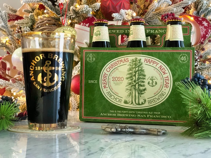 Anchor Steam Christmas Ale 2021 Anchor Brewing 2020 Christmas Ale Review