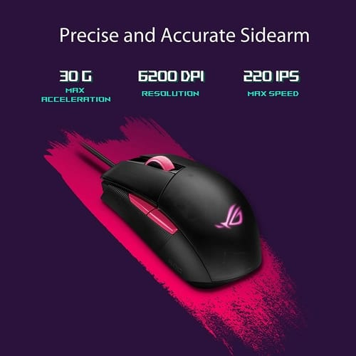 Review ASUS ROG Strix Impact II Electro Punk Edition Mouse