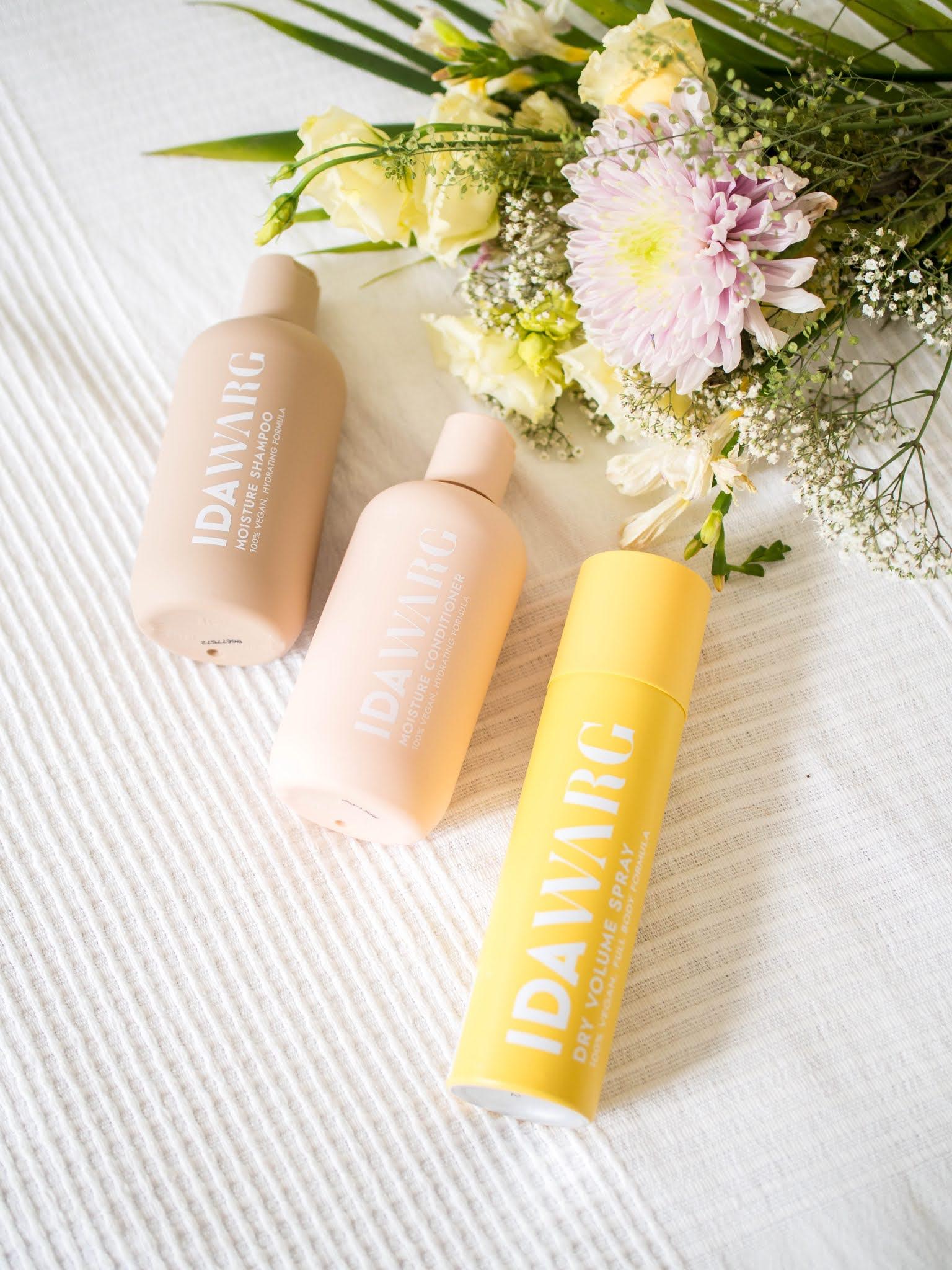 Ida Warg Moisture Shampoo + Conditioner, Dry Volume Spray