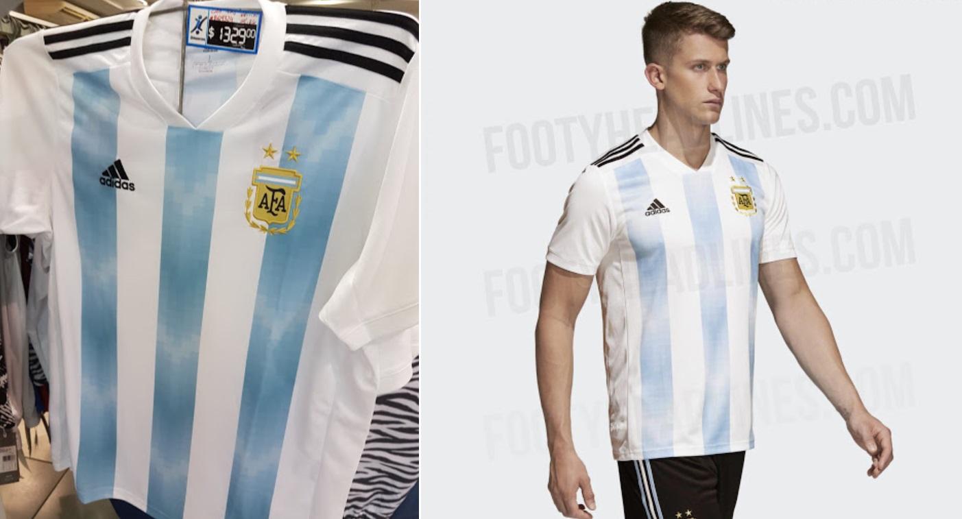 Argentina Home Kit 2018 Leaked online
