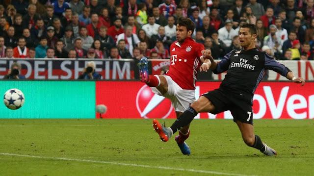 Madrid Menang 2-1 di Markas Bayern