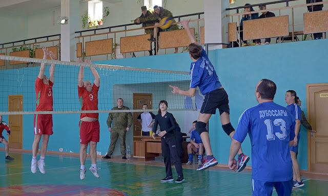 Волейбол в Дубоссарах