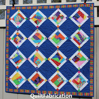 CRUMB JUMBLE QUILT-SCRAP QUILT-BONNIE HUNTER QUILT