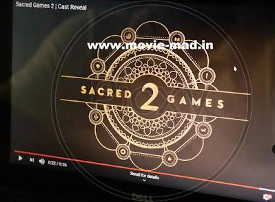 SACRED GAMES Season 02 Episode Wise Hindi HD