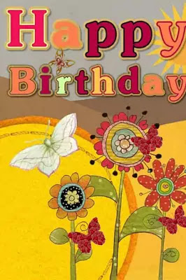 Free Funny Happy Birthday Images For Her With Butterflies