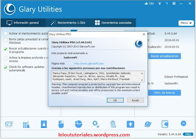 Glary Utilities Pro v5.44.0.64 + Serial + Portable [Full] [MEGA]