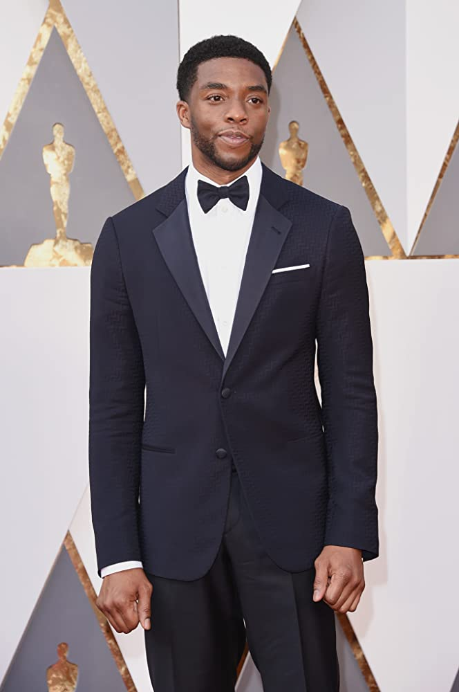 Chadwick Boseman at an event for The Oscars (2016)