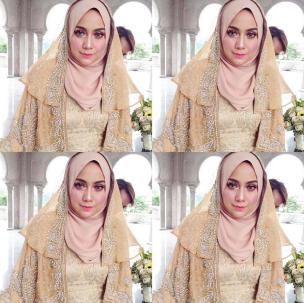(GAMBAR) Bila Mia Ahmad Fitting Baju Kahwin, Fuhhh Bergetar Tulang Rusuk !!