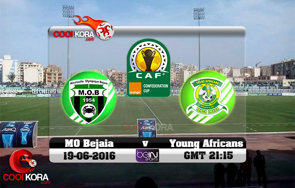 مشاهدة مباراة مولودية بجاية ويانغ أفريكانز اليوم 19-6-2016 كأس الإتحاد الأفريقي