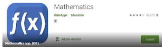 Aplikasi belajar matematika