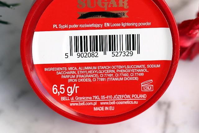 Sypki puder rozświetlający Bell Vanilla sugar face&body shine powder