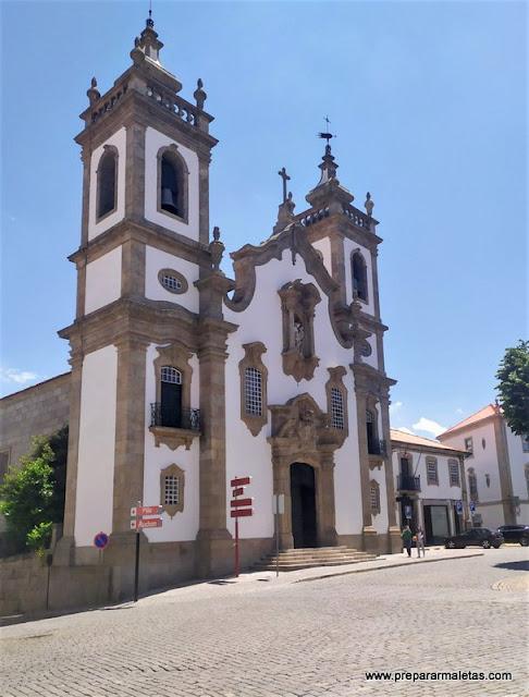 visitar iglesias bonitas en Guarda Portugal