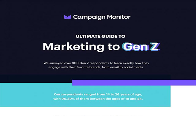 Infographics The Ultimate Guide to Marketing to Gen Z #infographic