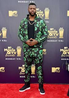 Winston Duke nigeria jersey