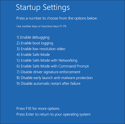 Cara Menonaktifkan Driver Signature Enforcement di Windows 8 & 10 8
