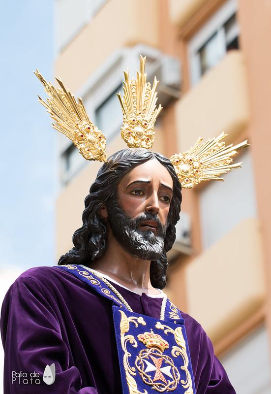 JESÚS DEL RESCATE DE MÁLAGA VUELVE AL BARRIO DE LA VICTORIA TRAS SU RESTAURACIÓN