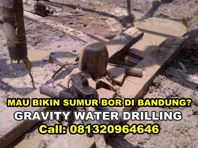 Jasa Bikin Sumur Bor Di Bandung Terbaik No.1 Gravity water Drilling