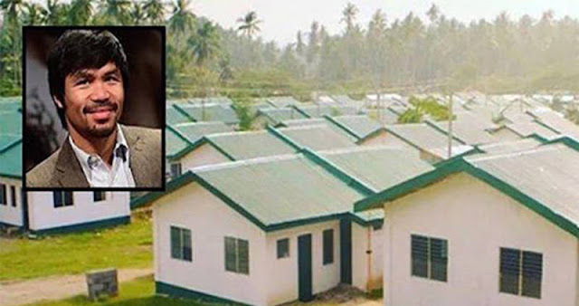 Manny Pacquiao Praised for Building 1,000 Homes for Poor Kababayans