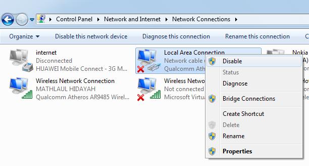 Cara Mengatasi No Internet Access dengan Mudah