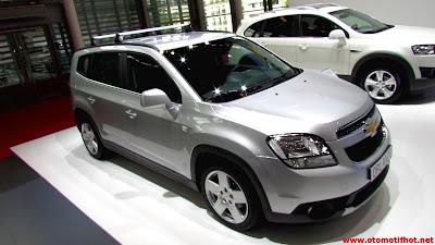 Spesifikasi Lengkap MPV Premium Chevrolet Orlando