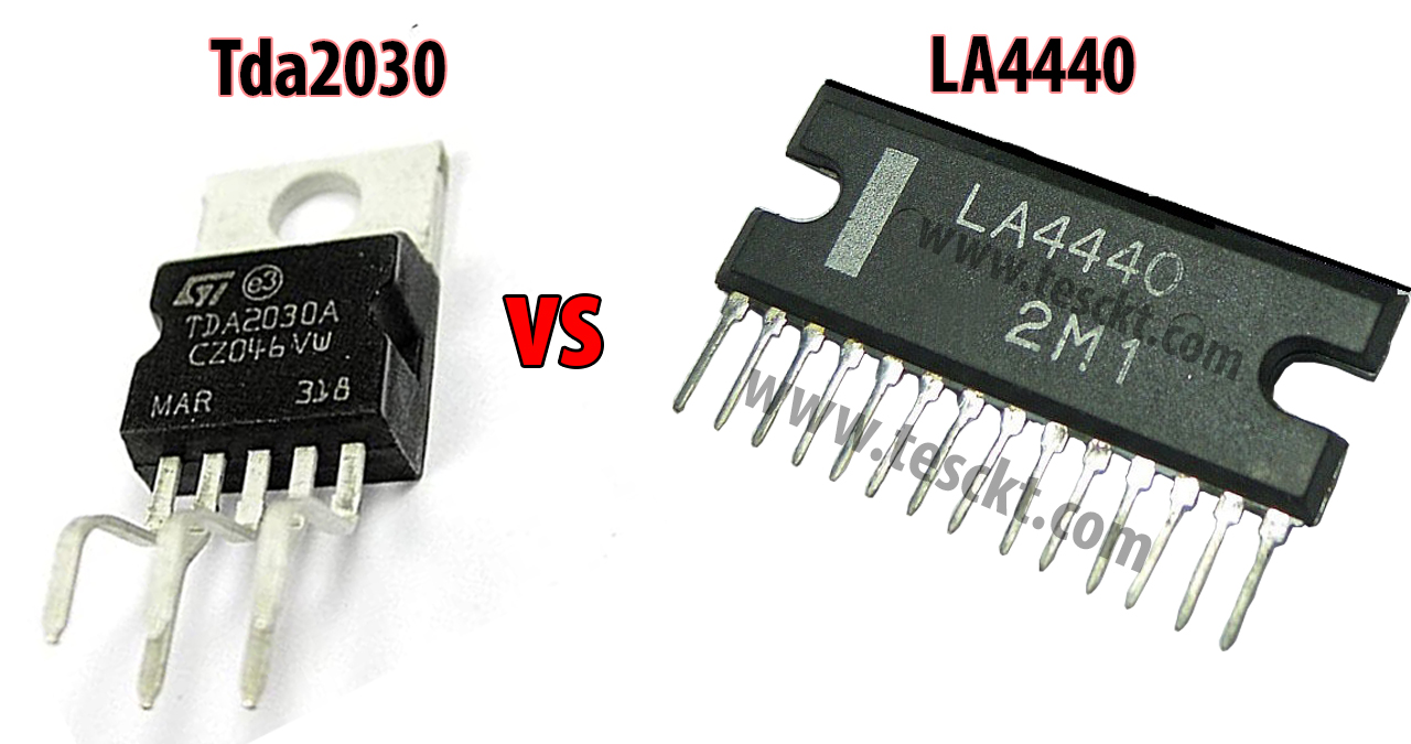 TDA2030 vs LA4440
