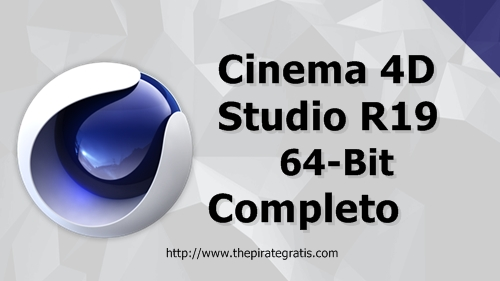Download CINEMA 4D R19 + Crack Completo via Torrent