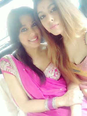 pooja-bedi-daughter-in-minissha-lamba-wedding-lunch