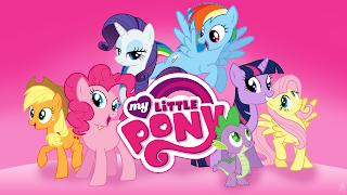 Mewarnai Gambar Pony Belajar