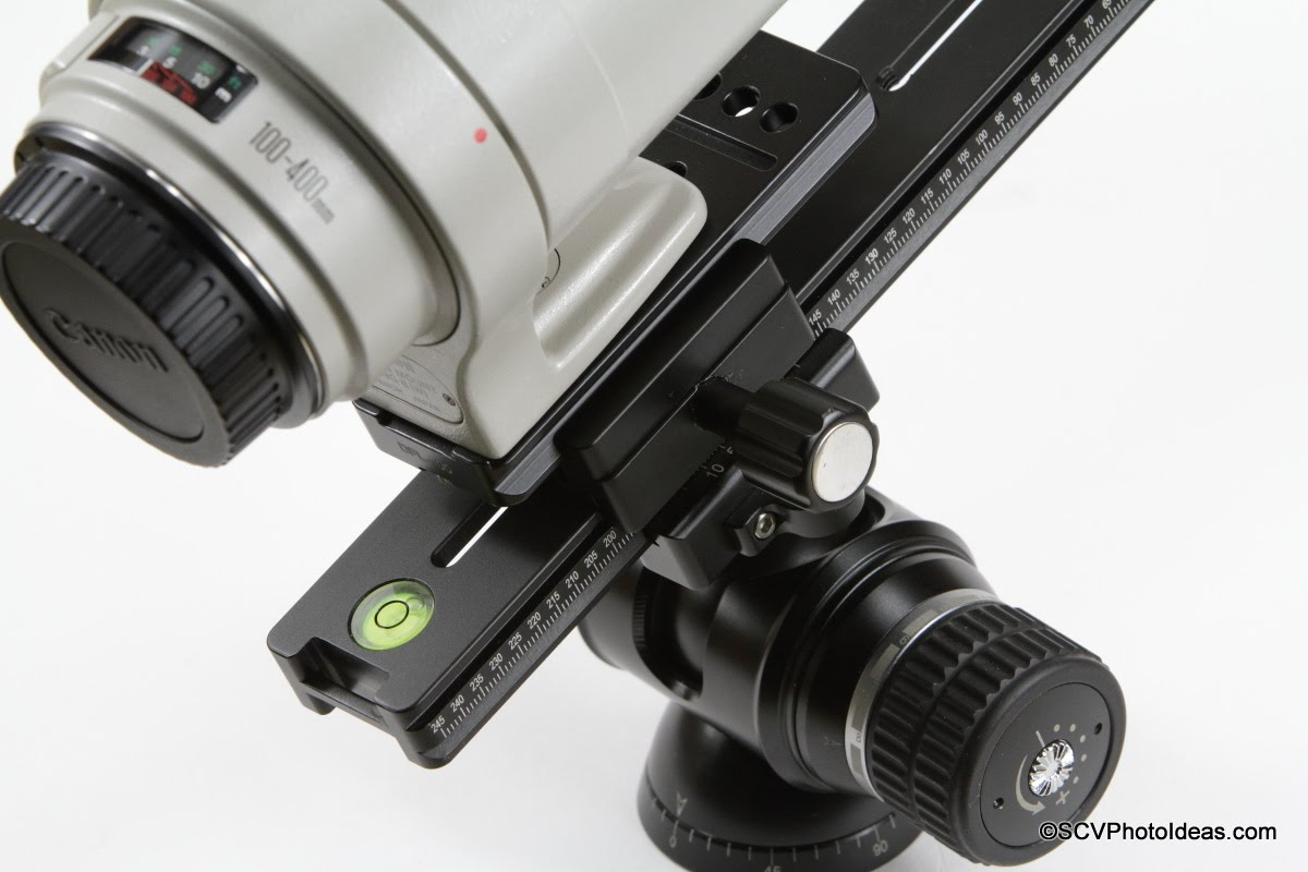 Desmond DBC-50 Dual Subtend clamped on Lens Plate and MPR Rail