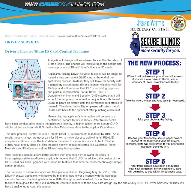 http://www.cyberdriveillinois.com/departments/drivers/drivers_license/central_issuance/home.html