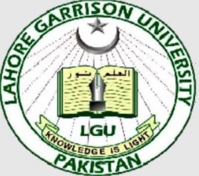 Lahore Garrison University LGU Lahore, Pakistan jobs