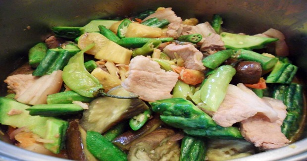Pinakbet With Kamote (Sweet Potatoes) Recipe