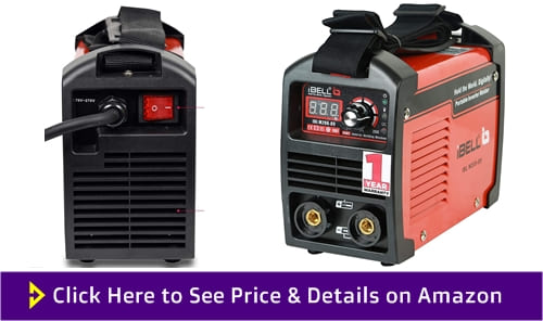 iBELL 200-89 Inverter ARC Compact Welding Machine - 200 Amps.