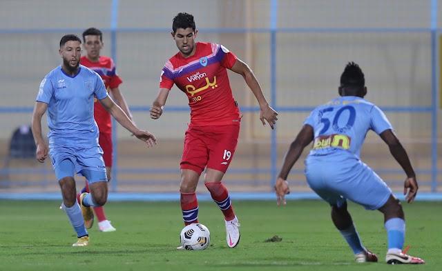 ملخص مباراة أبها والفيصلي (1-0) اليوم الخميس في الدوري السعودي