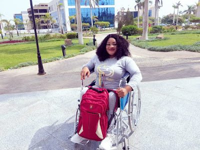 A university turned down my application due to my disability - Physically challenged Nigerian pharmacist shares her experience with discrimination