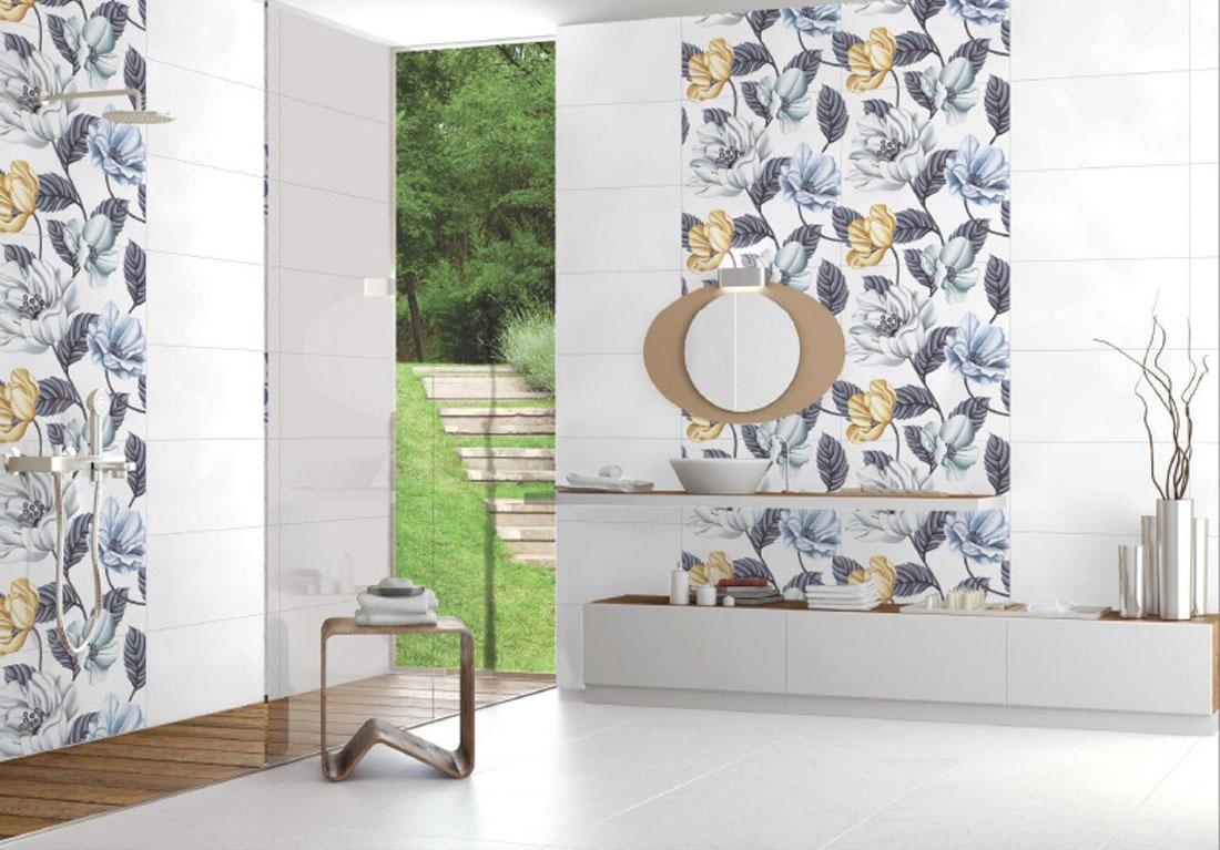 Biophilic design tiles