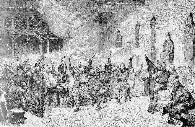 paganismo, rituais pagãos, curiosidades, bizarro, vikings