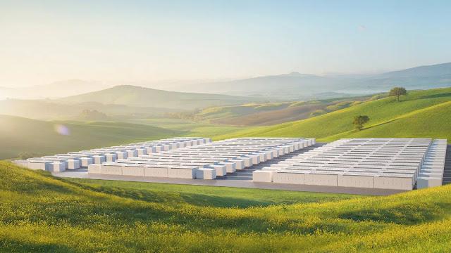 A key site for Tesla