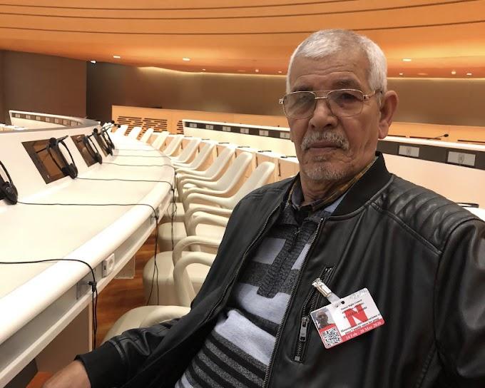 مجلس حقوق الإنسان : بمبا الشريف إبراهيم يسلط الضوء على ظروف إحتجاز الأسرى المدنيين الصحراويين في سجون الإحتلال المغربي.