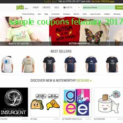 CafePress coupons february 2017