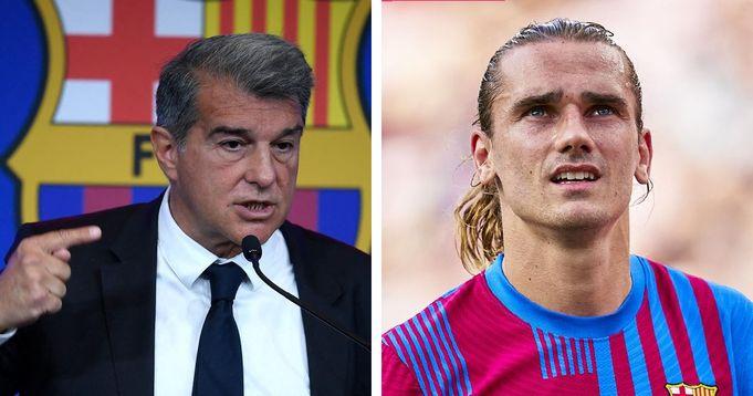 Barca president send message to fans after Griezmann's departure