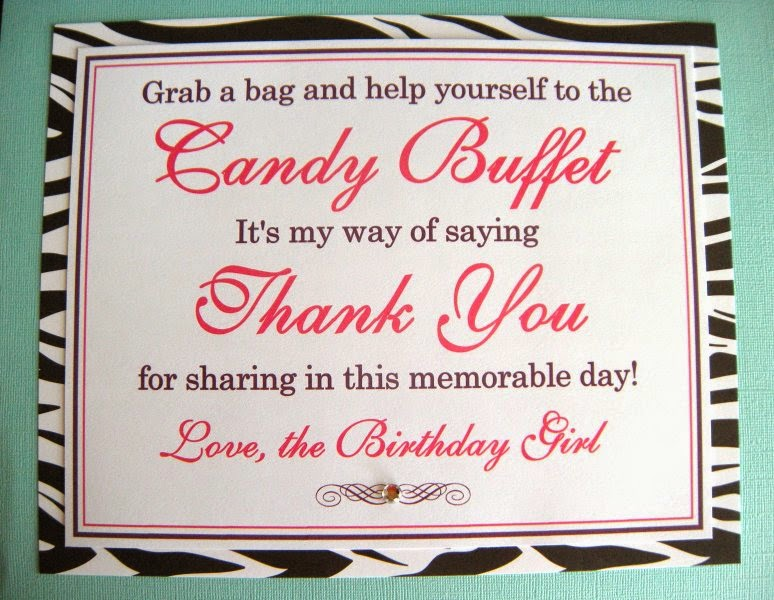 1f5d9195ed9516 ... Candy Buffet sign made by Weddings by Susan. I can print this 8x10 sign  in any color with any message. These custom printed signs start at  10 for  flat ...
