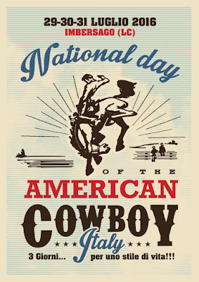 National Day of the American Cowboy Italy 29-30-31 luglio Imbersago (LC)