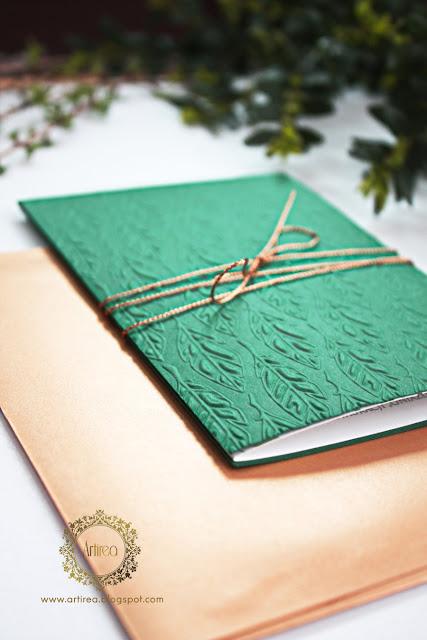 zielone zaproszenia slubne artirea
