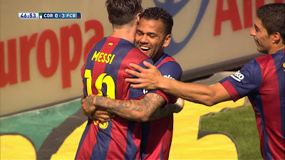 LFP-Week-35 : Cordoba 0 vs 8 Barcelona 02-05-2015