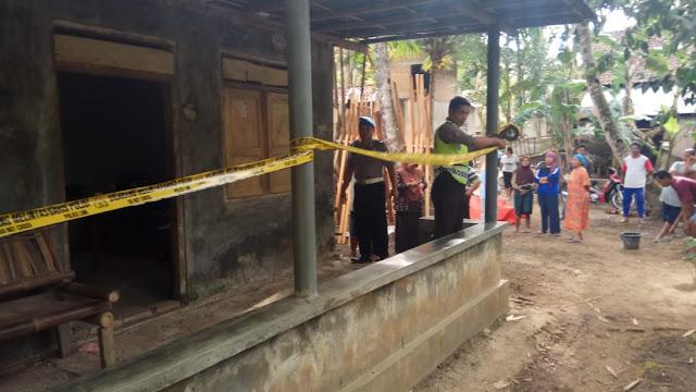 Penemuan Mayat Meringkuk di Lantai Gegerkan Warga Candiwulan